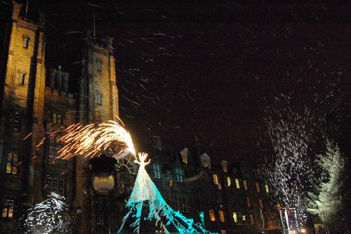 Edinburgh's Juletre 2011