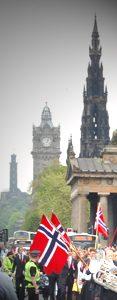 Syttende mai i Edinburgh